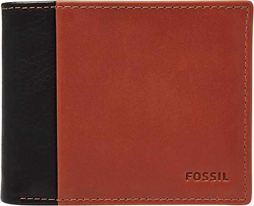 Fossil Men's Ward RFID Bifold w/Flip ID