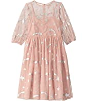 Stella McCartney Kids - Foil Stars Tulle Overlay Dress (Toddler/Little Kids/Big Kids)