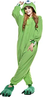 Adult Alien Unisex Pyjamas Halloween Onesie Costume