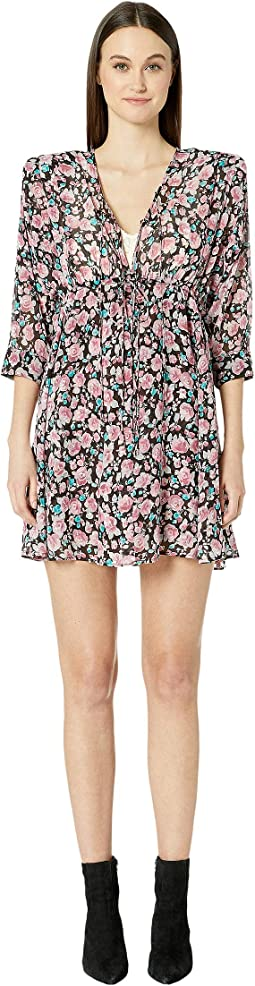 Candy Flowers Printed Dress