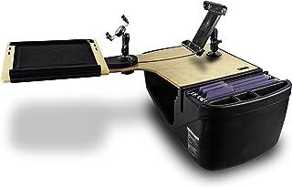 AutoExec AUE18034 AutoExec AUE18034 Reach Desk Back Seat Car Desk Birch Elite with Phone Mount and Tablet Mount