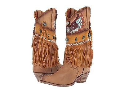 Dan Post T-Bird (Camel Fringe) Cowboy Boots