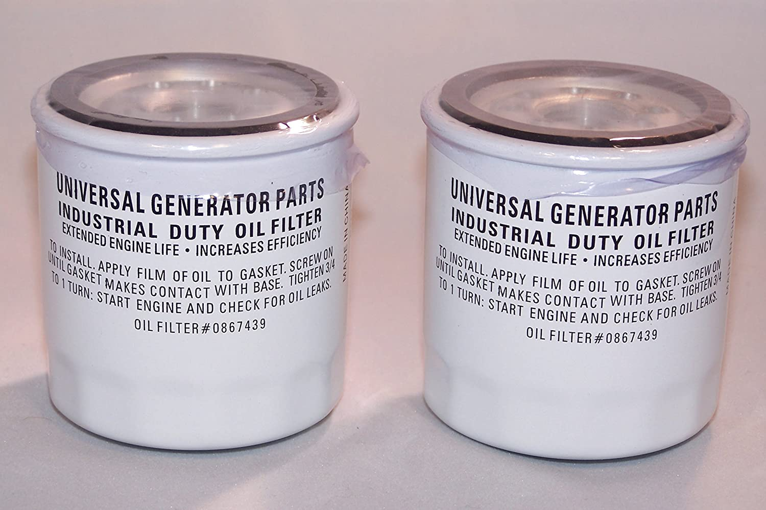 Universal Generator Part Replacement Oil 5 ☆ popular for Filters and 070185B Cheap super special price