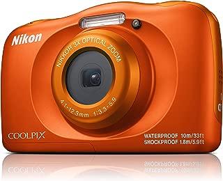Nikon W150 Australian Warranty Coolpix Digital Camera, Orange (VQA112AA)