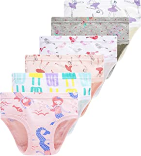 Winging Day Little Girls' Cotton Panties Baby Toddler Soft Underwear Multipack
