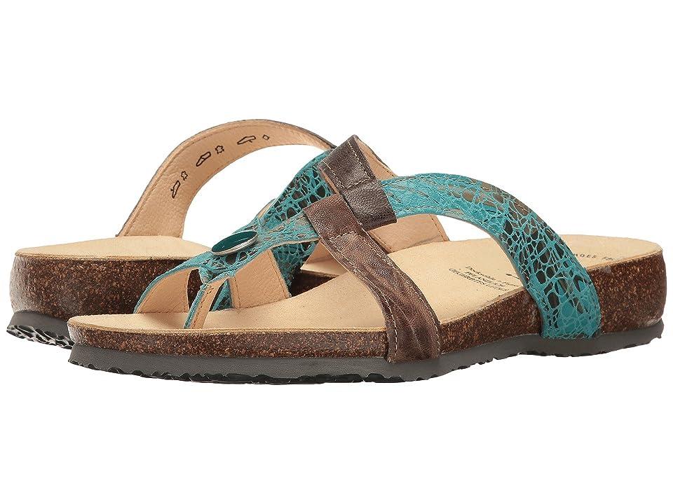 a2542109b393 Think! Julia 80335 (Turkis Kombi) Women s Sandals