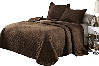 Best brown quilted coverlet Reviews