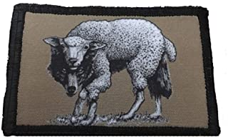 Wolf in Sheep's Clothing Morale Patch 2x3