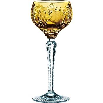 2 x NACHTMANN Kristallglas Römer Bernstein Bleikristall Glas