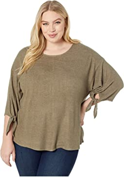 Plus Size Jayden 3/4 Sleeve Top