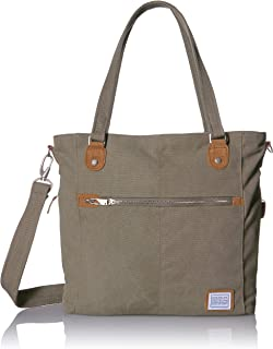 Anti-Theft Heritage Tote Bag Travel, Sage, One Size