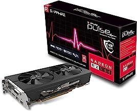 Sapphire 11265-09-20G Radeon Pulse RX 580 4GB GDDR5 Dual HDMI/ DVI-D/ Dual DP OC with Backplate (UEFI) PCI-E Graphics Card