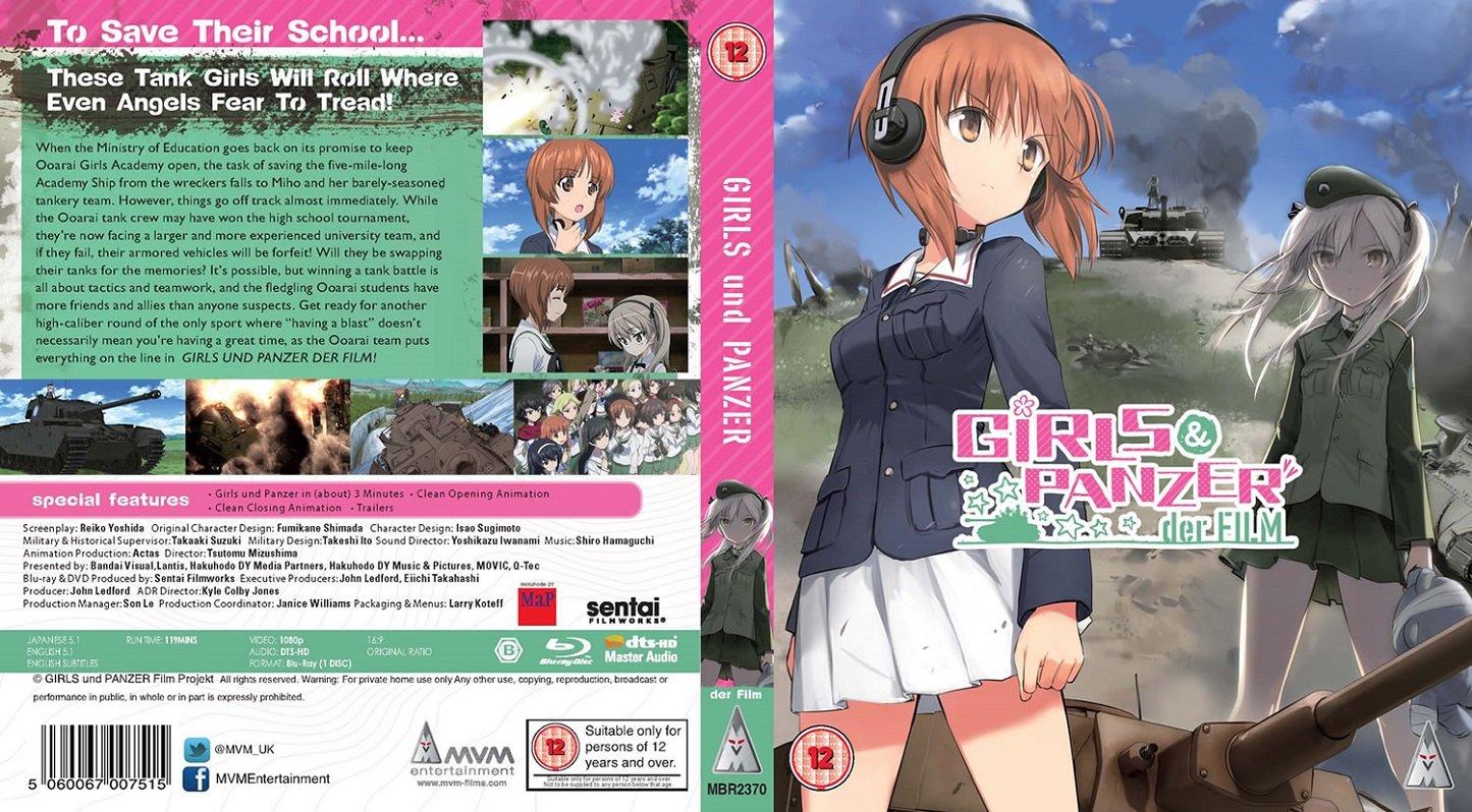 Der english panzer und dub film Girls und