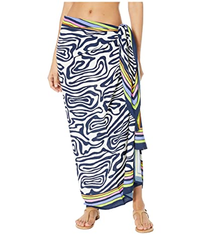 Trina Turk Zebra Pareo Cover-Up (Multi) Women