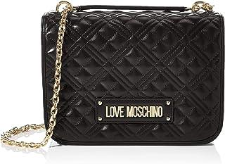 Love Moschino JC4200PP0BKA0000, Bandolera para Mujer, Negro, Normale