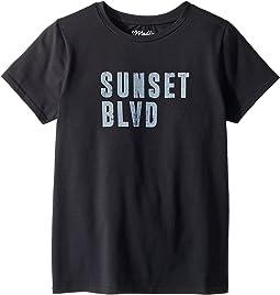 Printed Sunset Boulevard Graphic Tee (Big Kids)