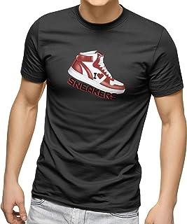 CREO Customized Round Neck Shirt - I Love Sneakers Design