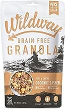 product image for Wildway Keto, Vegan Granola | Coconut Cashew | Certified Gluten Free Granola Breakfast Cereal, Low Carb Snack | Paleo, Grain Free, Non GMO, No Added Sugar | 8oz