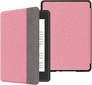 Fintie for Amazon Kindle Paperwhite 第10世代 ケース 軽量 薄型 オートスリープ機能付き Kindle Paperwhite 2018 Newモデル 第10世代 用 保護カバー (デニムピンク)