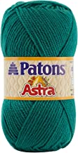 Patons  Astra Solids Yarn - (3) Light Gauge 100% Acrylic - 1.75 oz - Green -  Machine Wash & Dry