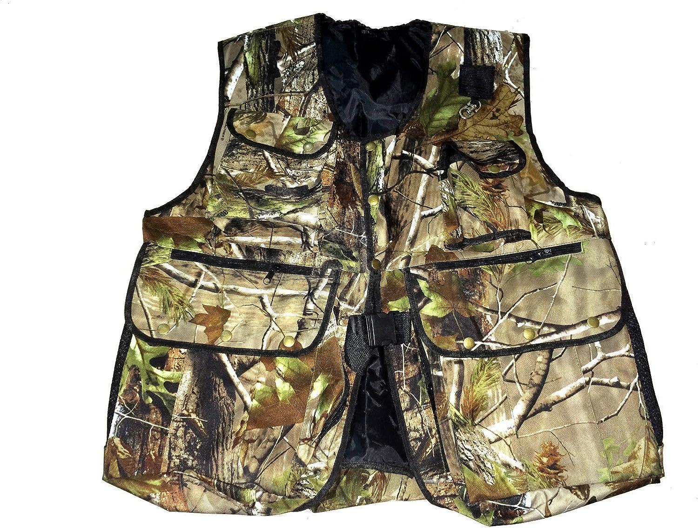 New Falconry, Hunting & Hawking Camo Waistcoat, Jungle Wild Full Vest