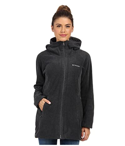 Columbia Benton Springstm II Long Hoodie (Charcoal Heather) Women