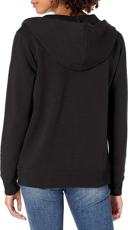 Skechers Sweat-shirt à capuche avec logo diamant pour femme Noir