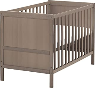IKEA.. 802.485.73 Sundvik Crib, Gray-Brown