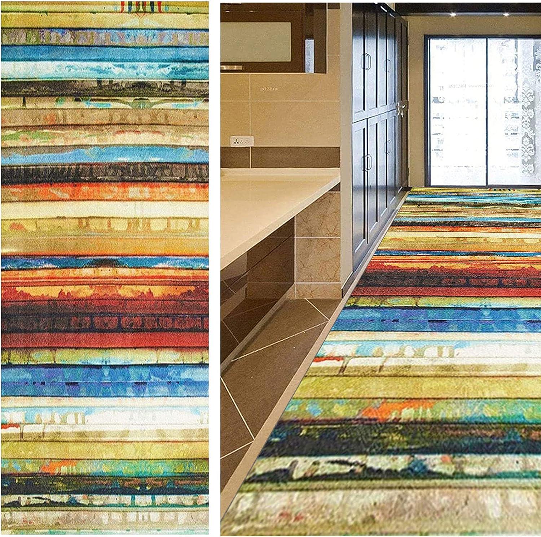 Max 45% OFF GUOYUYU Runner Rug 90x100cm Non Mats Max 75% OFF Slip Carpet Modern Stair