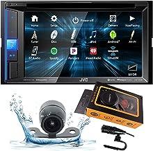 JVC KW-V25BT (KWV25BT) Double DIN in-Dash Bluetooth CD/DVD/AM/FM/Digital Media Car Stereo Receiver w/ 6.2