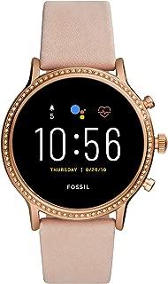 Fossil Gen 5 Julianna Stainless Steel Touchscreen Smartwatch with Speaker, Heart Rate, GPS, NFC,...