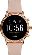 Fossil Gen 5 Julianna Stainless Steel Touchscreen Smartwatch with Speaker, Heart Rate,..