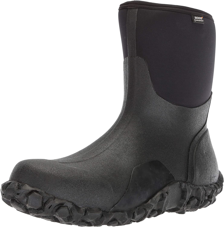 Bogs herrar herrar herrar Classic Mid Water Insulated Rain Boot, svart, 20 D (M) USA  fabriks direkt