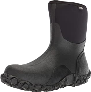 Bogs Mens Classic Mid Waterproof Insulated Rain and Winter Snow Boot