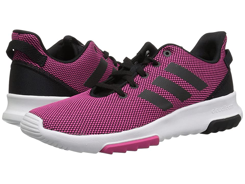 adidas Kids Cloudfoam Racer TR (Little Kid/Big Kid) (Real Magenta/Black/Real Magenta) Kids Shoes