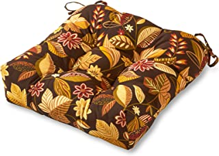 Greendale Home Fashions 20-Inch Indoor/Outdoor Chair Cushion, Timberland Floral