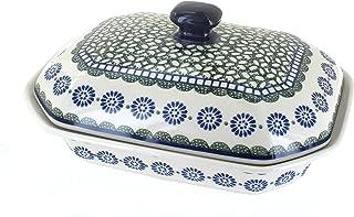 Polish Pottery Maia Medium Covered Baking Dish