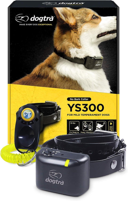 Dogtra YS300 Anti Bark Dog Collar and Dogs Adj for 2021 Small Medium Max 82% OFF