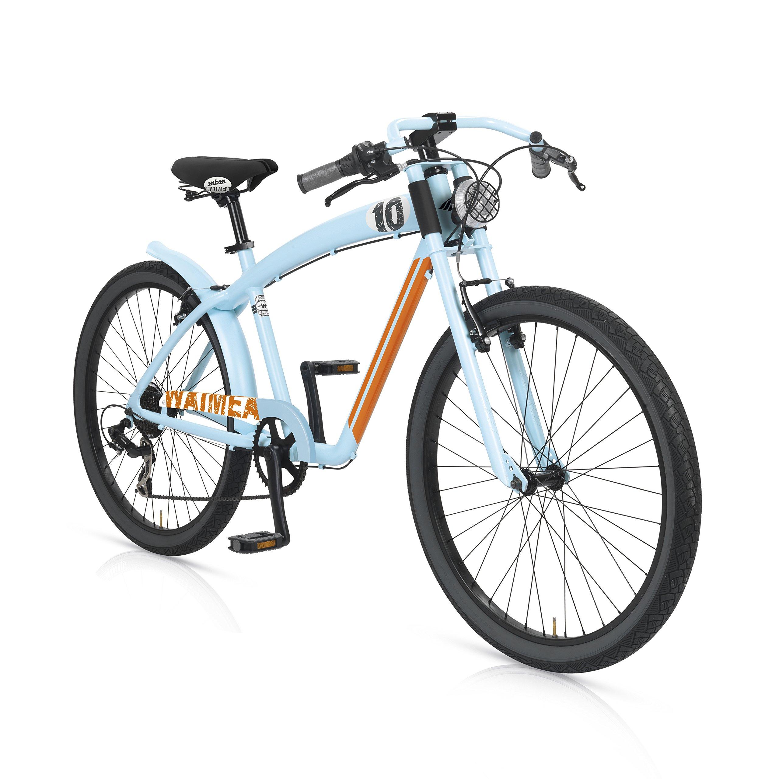 MBM Waimea - Bicicleta de Paseo para Hombre de 7 velocidades ...