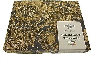 Habanero Vielfalt - Samen-Geschenkset mit 5 spannenden Sorten vom Capsicum Chinense-Typ