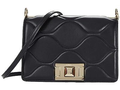 Furla Mimi Mini Crossbody (Nero) Handbags