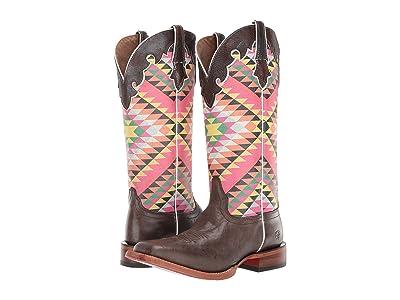 Ariat Fonda (Iron Grey/Eye Dazzler Aztec) Cowboy Boots