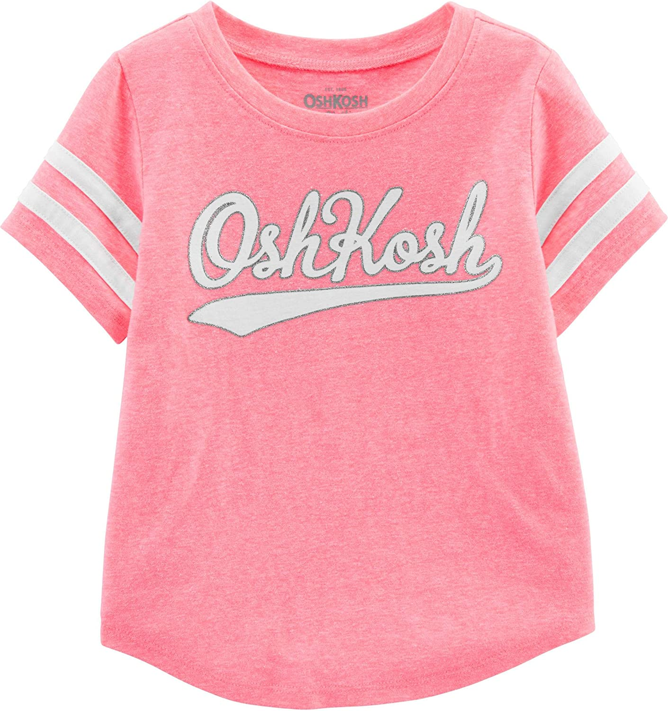 OshKosh B'Gosh Baby Girls' Cash special price Toddler Logo T-Shirt Recommended