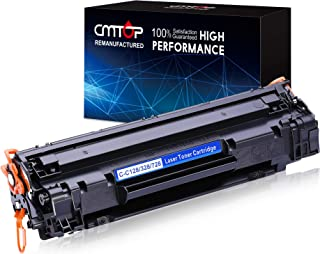 CMTOP 128 Black Toner Compatible for Canon 128 Toner Cartridge, High Yield, for Canon ImageClass D530 D550 MF4770N MF4880DW MF4890DW MF4570DW MF4450 MF4550D MF4570DN MF4580DN Canon Faxphone L190 L100