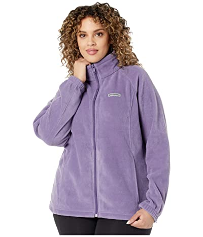 Columbia Plus Size Benton Springstm Full Zip (Plum Purple) Women