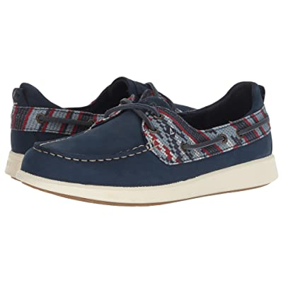 Sperry Oasis Dock Prints (Navy Multi Fair Isle) Women