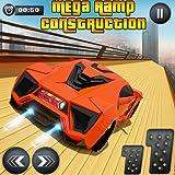 mega ramp extreme car - juego imposible de carreras de coches
