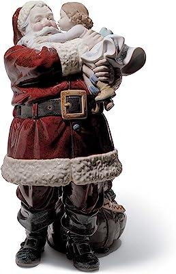 LLADRÓ Santa I've Been Good! Figurine. Limited Edition. Porcelain Santa Figure.
