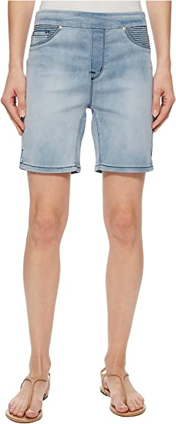 "Pull-On 7"" Dream Jean Shorts in Sky"