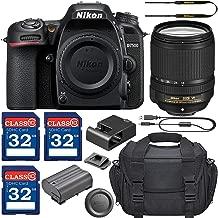 Nikon D7500 DSLR Camera & AF-S 18-140mm VR Lens with 3 Memory Card Bundle